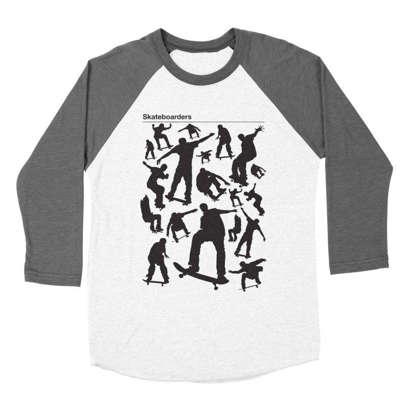 Skateboarders Women's Longsleeve T-Shirt by swarm's Artist Shop