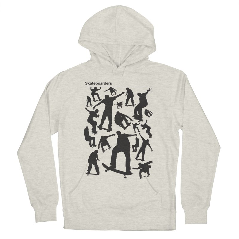 Skateboarders Men's Pullover Hoody by swarm's Artist Shop