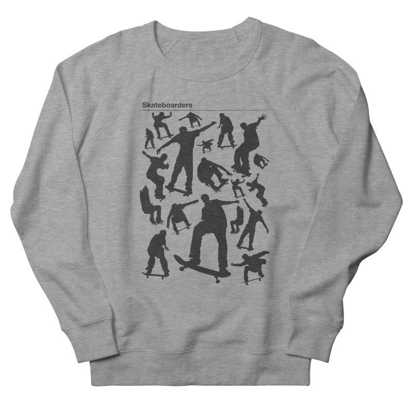 Skateboarders Women's Sweatshirt by swarm's Artist Shop