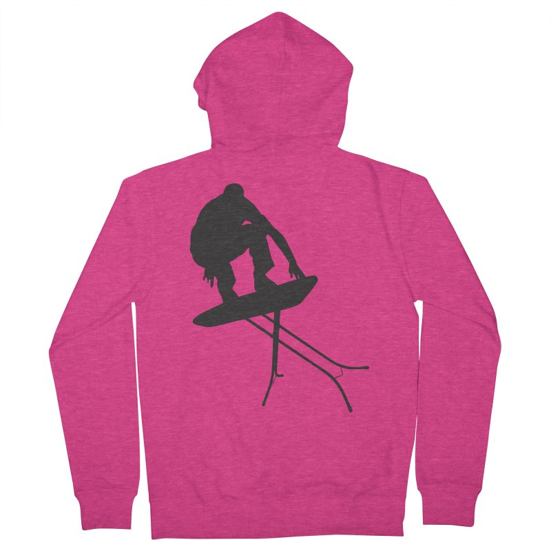 Ironboarder Women's Zip-Up Hoody by swarm's Artist Shop