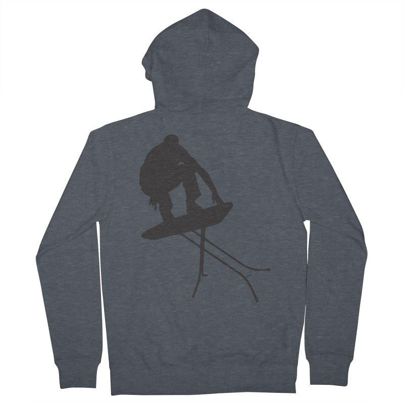 Ironboarder Men's Zip-Up Hoody by swarm's Artist Shop