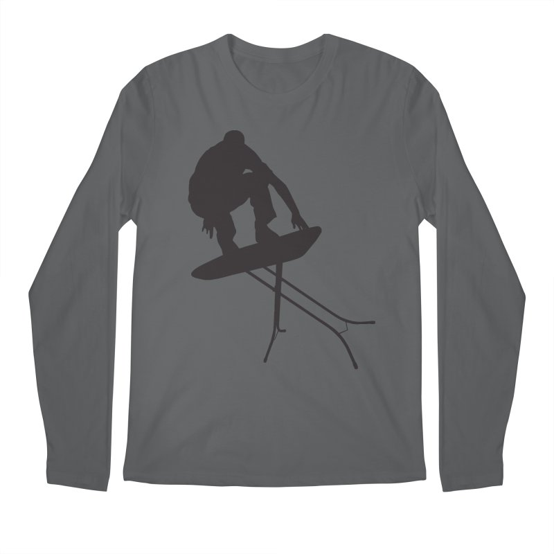 Ironboarder Men's Regular Longsleeve T-Shirt by swarm's Artist Shop