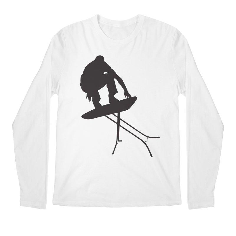 Ironboarder Men's Longsleeve T-Shirt by swarm's Artist Shop