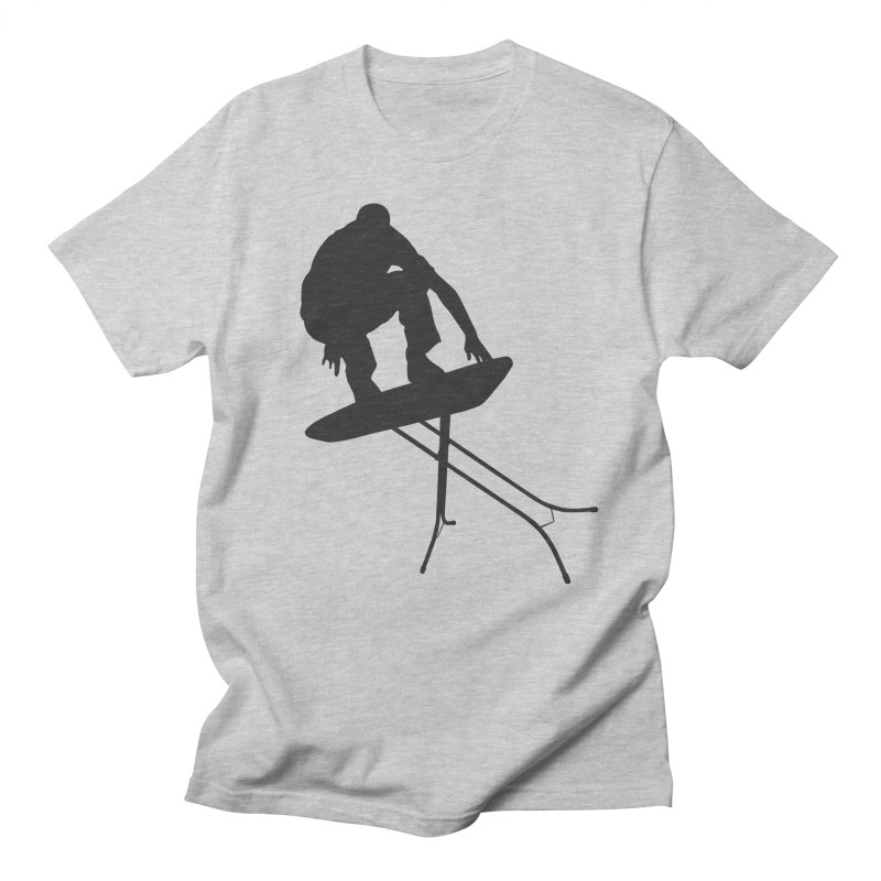Ironboarder in Men's T-shirt Heather Grey by swarm's Artist Shop