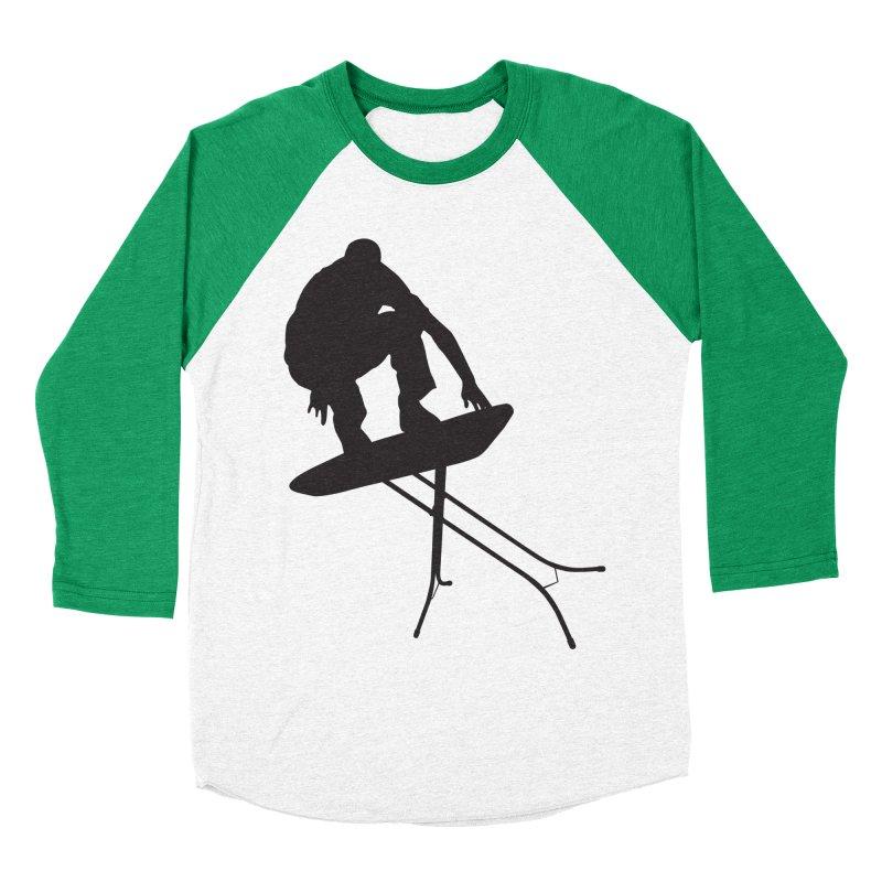 Ironboarder Women's Baseball Triblend T-Shirt by swarm's Artist Shop