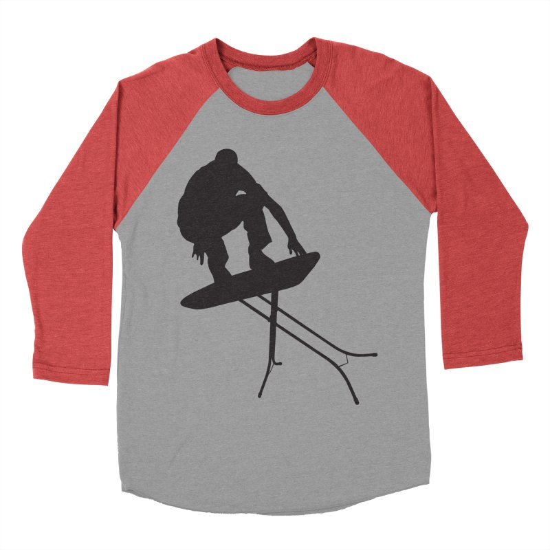 Ironboarder Women's Baseball Triblend T-Shirt by swarm's Artist Shop