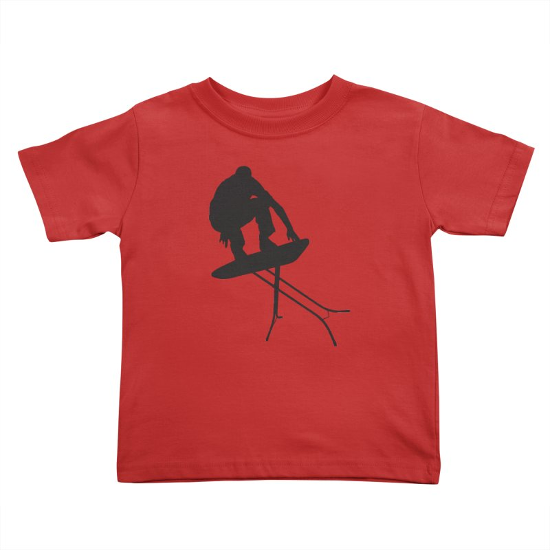 Ironboarder Kids Toddler T-Shirt by swarm's Artist Shop