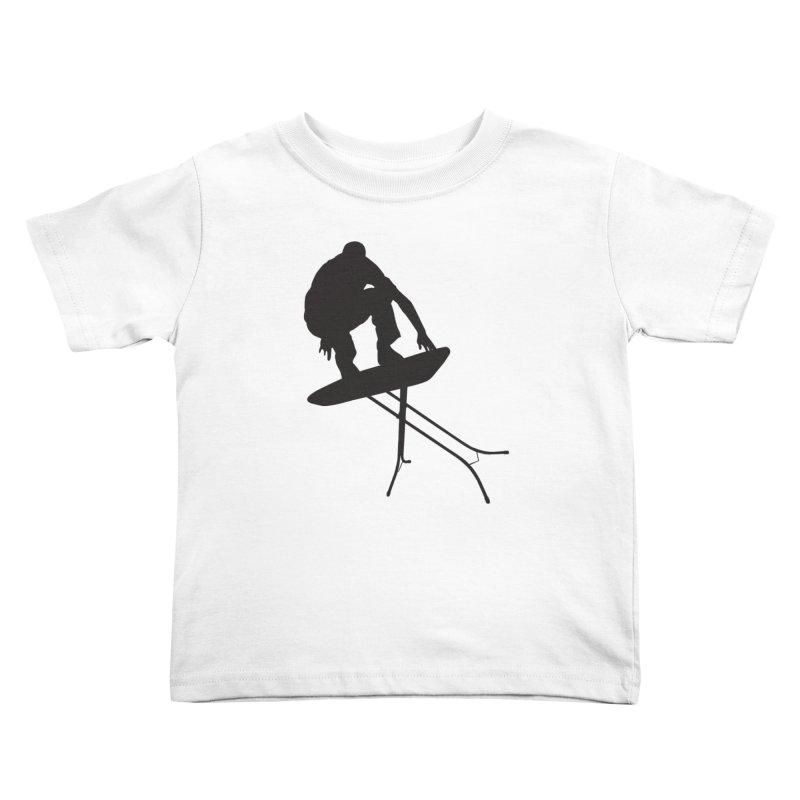Ironboarder Kids Toddler T-Shirt by swarm's Artist Shop