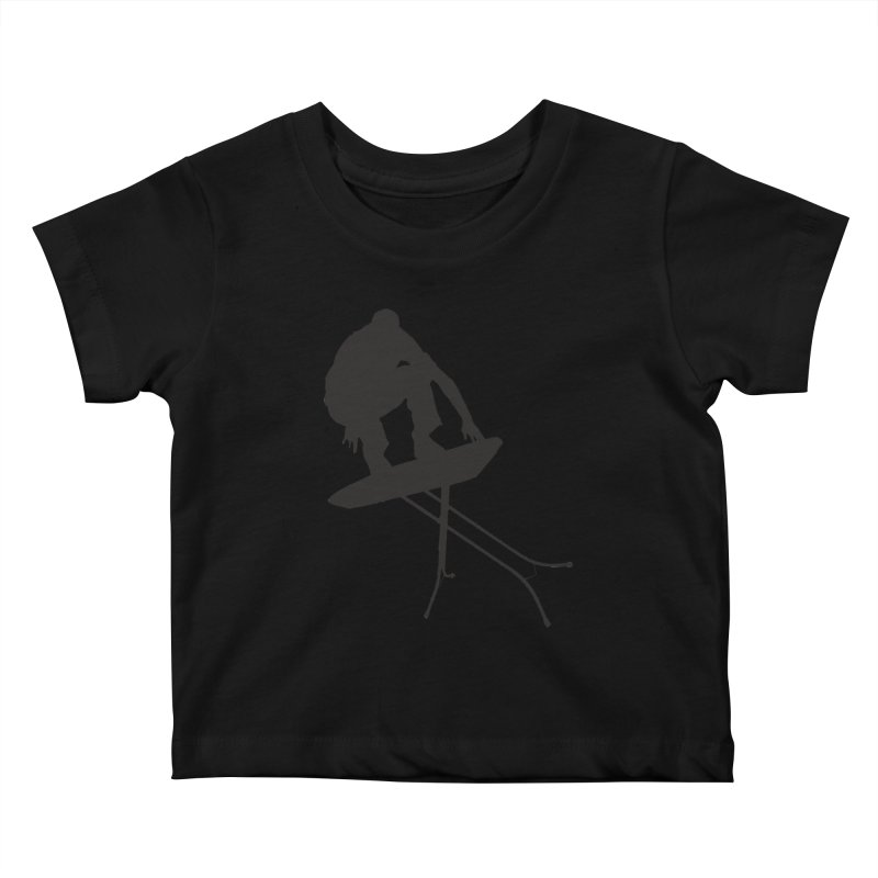 Ironboarder Kids Baby T-Shirt by swarm's Artist Shop
