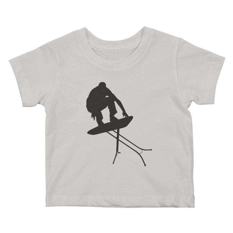 Ironboarder Kids Baby T-Shirt by swarm's Artist Shop