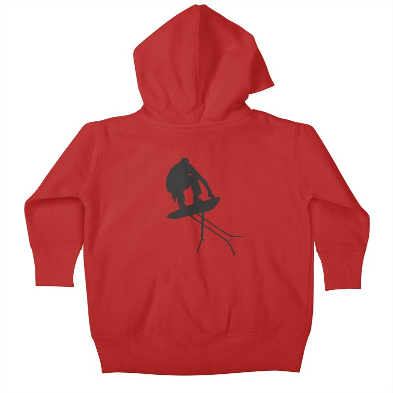 Ironboarder Kids Baby Zip-Up Hoody by swarm's Artist Shop