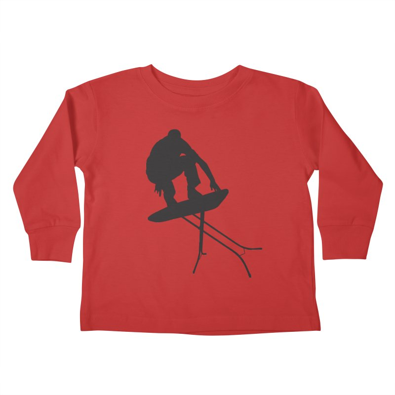Ironboarder Kids Toddler Longsleeve T-Shirt by swarm's Artist Shop