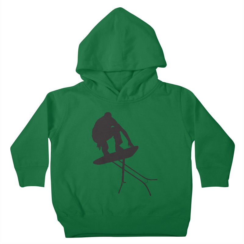 Ironboarder Kids Toddler Pullover Hoody by swarm's Artist Shop