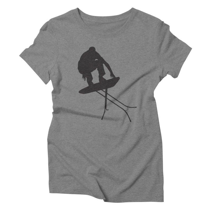 Ironboarder Women's Triblend T-shirt by swarm's Artist Shop