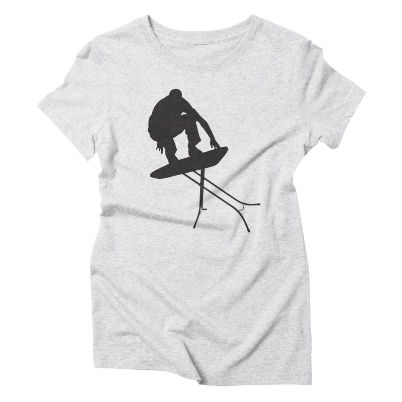 Ironboarder Women's Triblend T-Shirt by swarm's Artist Shop