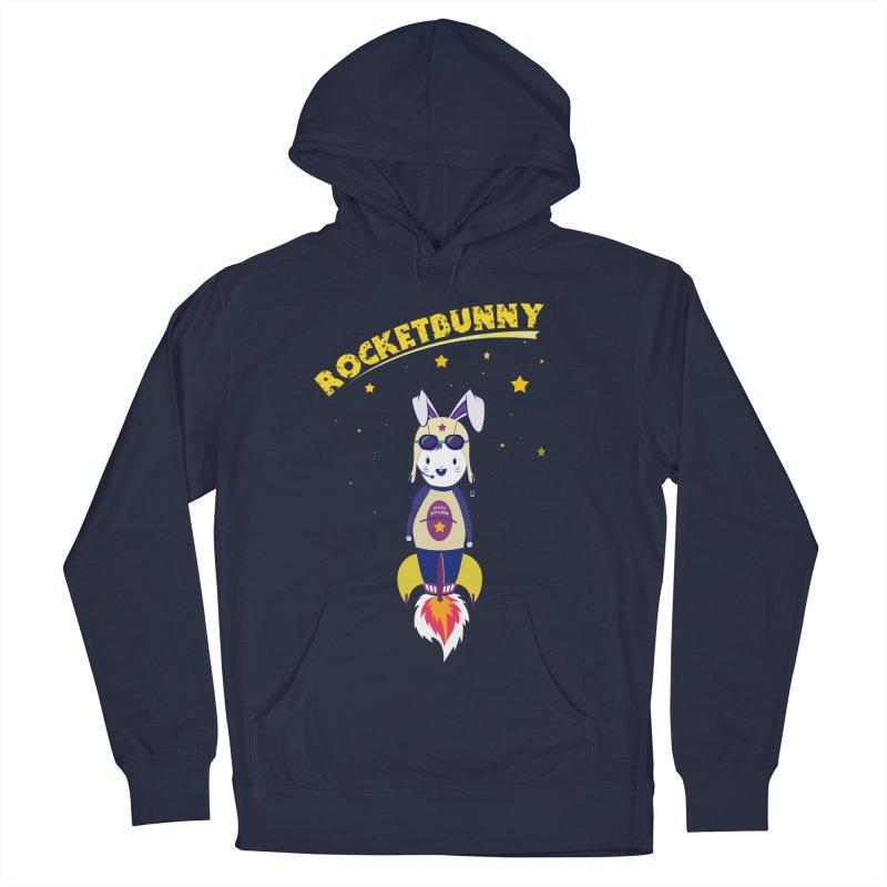 Rocket Bunny Men's Pullover Hoody by Swear's Artist Shop