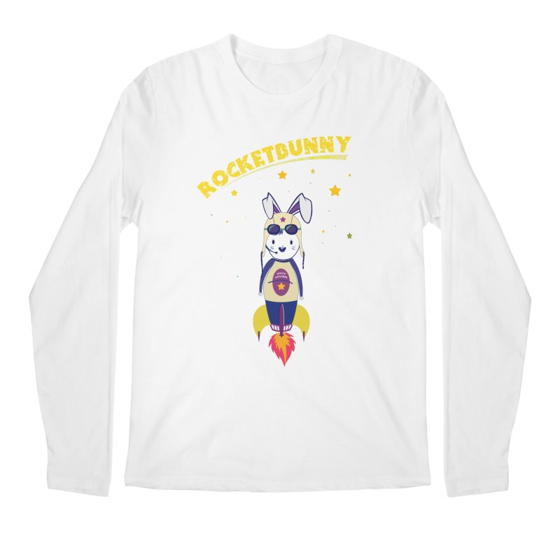 Rocket Bunny Men's Longsleeve T-Shirt by Swear's Artist Shop