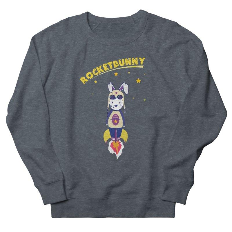 Rocket Bunny Men's Sweatshirt by Swear's Artist Shop