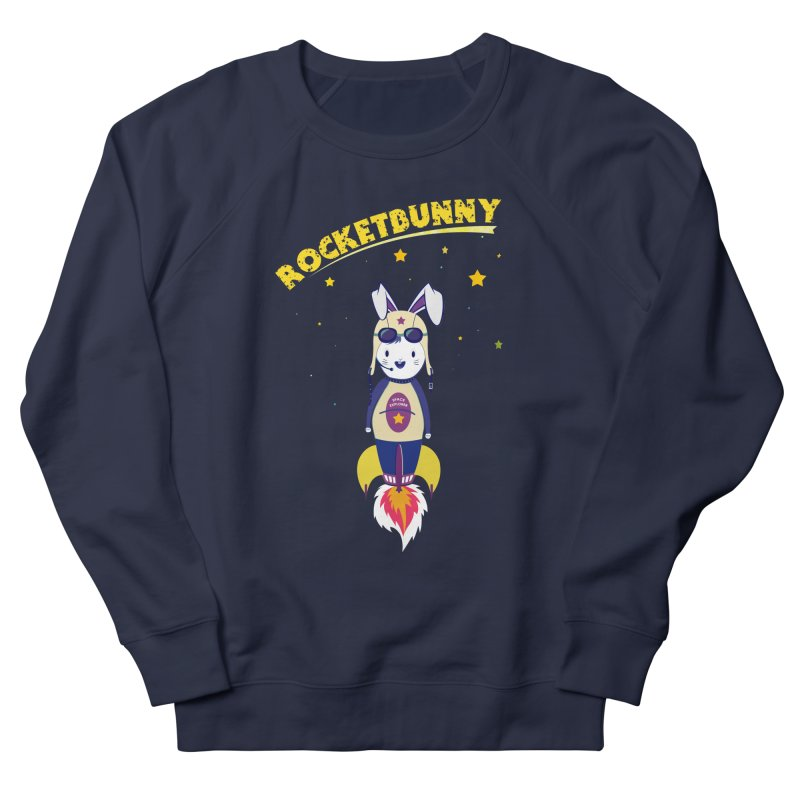 Rocket Bunny Men's Sweatshirt by Swear's Artist Shop