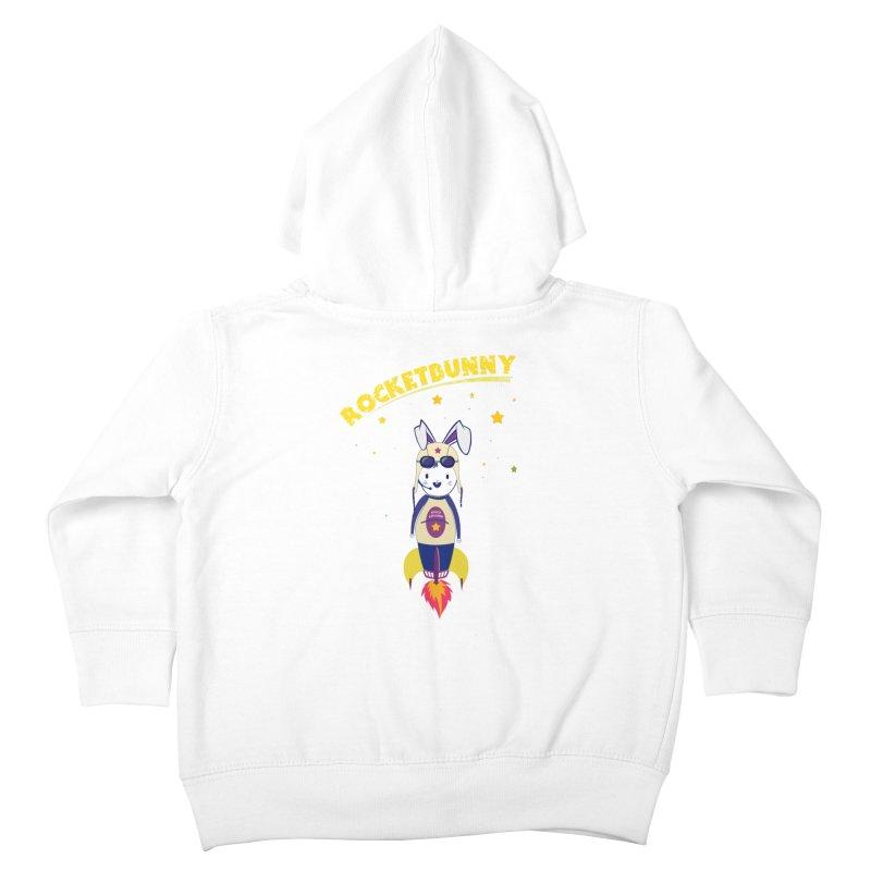 Rocket Bunny Kids Toddler Zip-Up Hoody by Swear's Artist Shop