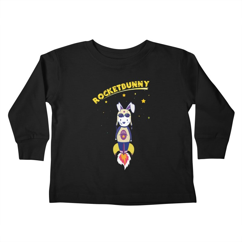 Rocket Bunny Kids Toddler Longsleeve T-Shirt by Swear's Artist Shop