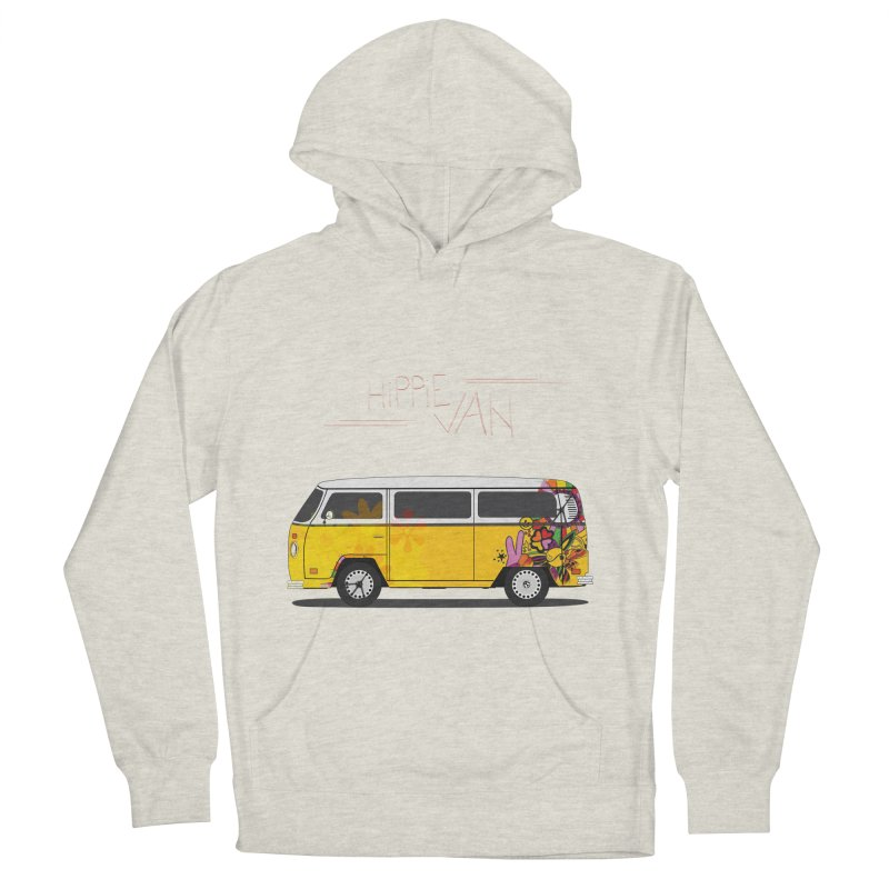 Hippie Van Women's Pullover Hoody by Swear's Artist Shop