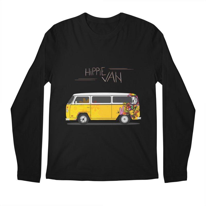 Hippie Van Men's Longsleeve T-Shirt by Swear's Artist Shop