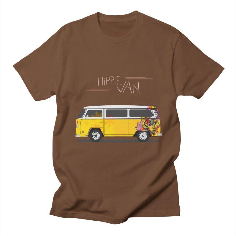Hippie Van   by Swear's Artist Shop