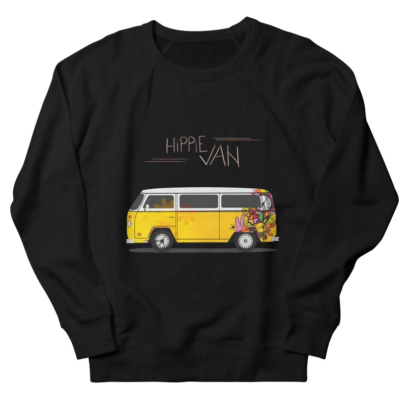 Hippie Van Women's Sweatshirt by Swear's Artist Shop