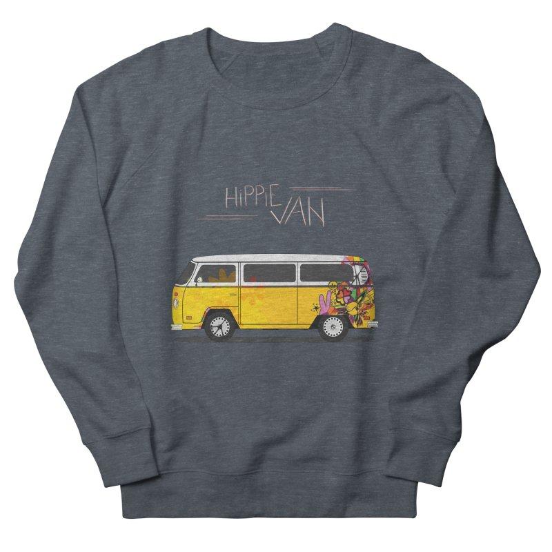 Hippie Van Men's Sweatshirt by Swear's Artist Shop