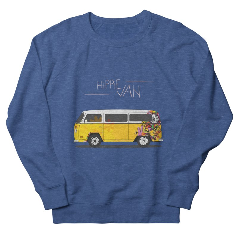 Hippie Van Men's Sweatshirt by Swear's Artist Shop