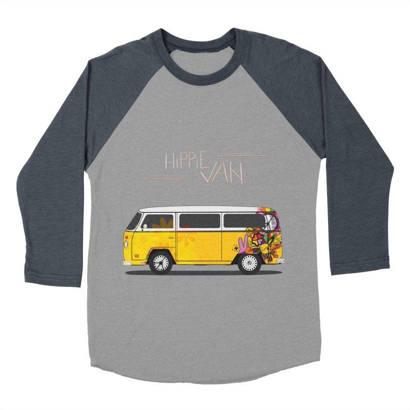 Hippie Van Women's Baseball Triblend T-Shirt by Swear's Artist Shop
