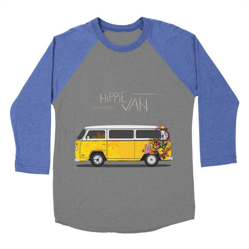 Hippie Van Men's Baseball Triblend T-Shirt by Swear's Artist Shop