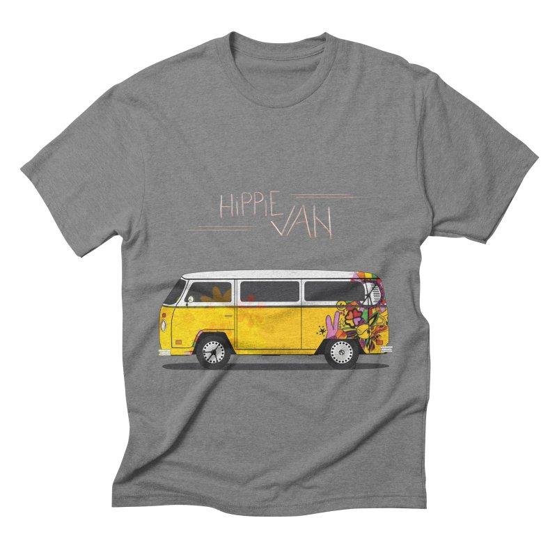 Hippie Van Men's Triblend T-shirt by Swear's Artist Shop