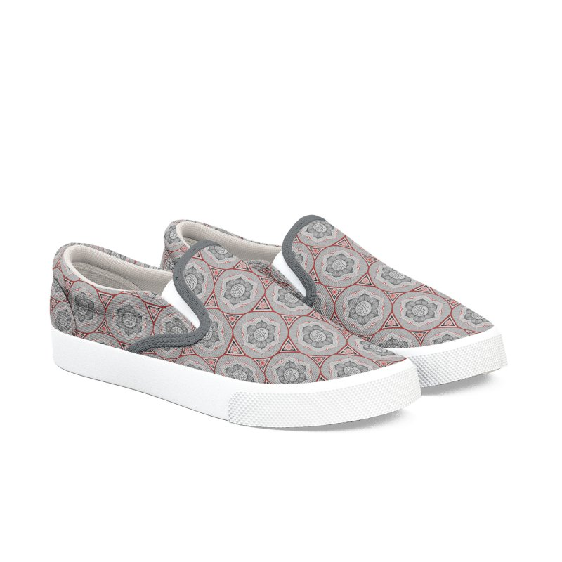 Bugger Off Women's Slip-On Shoes by Swearing Pattern Shoes