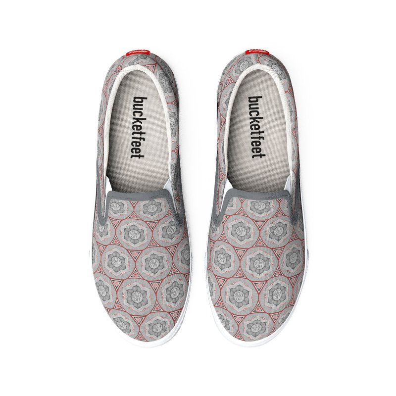 Bugger Off Men's Shoes by Swearing Pattern Shoes