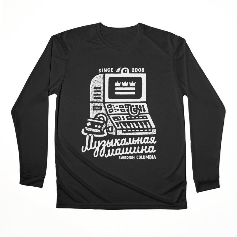 Swedish Columbia Music Machine Women's Performance Unisex Longsleeve T-Shirt by Swedish Columbia's Artist Shop