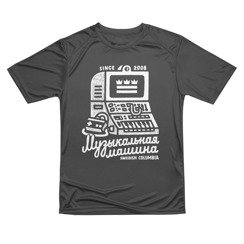 Swedish Columbia Music Machine Women's Performance Unisex T-Shirt by Swedish Columbia's Artist Shop