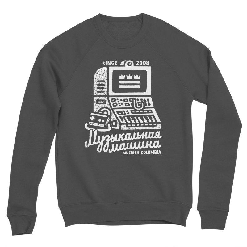 Swedish Columbia Music Machine Men's Sponge Fleece Sweatshirt by Swedish Columbia's Artist Shop