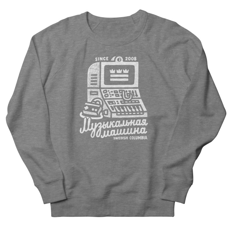 Swedish Columbia Music Machine Men's French Terry Sweatshirt by Swedish Columbia's Artist Shop