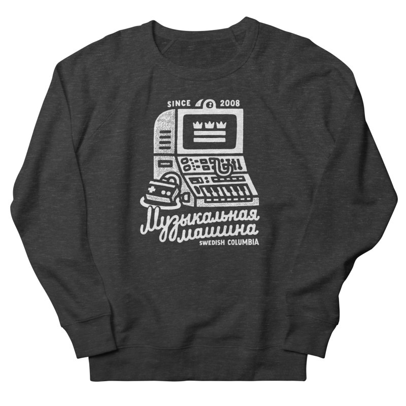 Swedish Columbia Music Machine Men's French Terry Sweatshirt by Swedish Columbia's Artist Shop