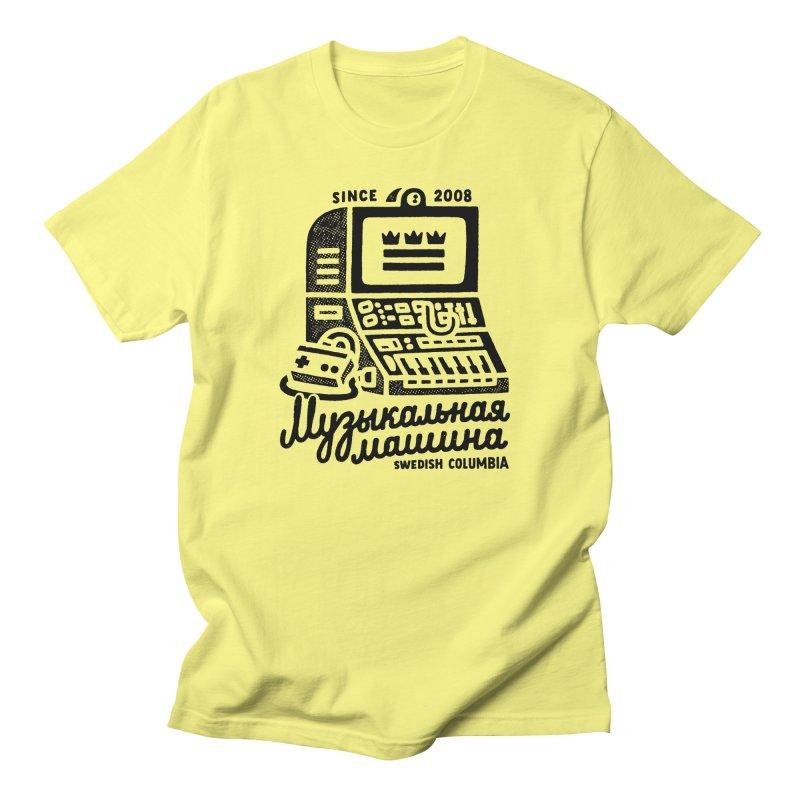 Swedish Columbia Music Machine 2 Men's T-Shirt by Swedish Columbia's Artist Shop