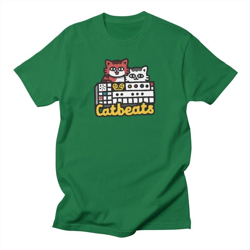 Catbeats Men's T-Shirt by Swedish Columbia's Artist Shop