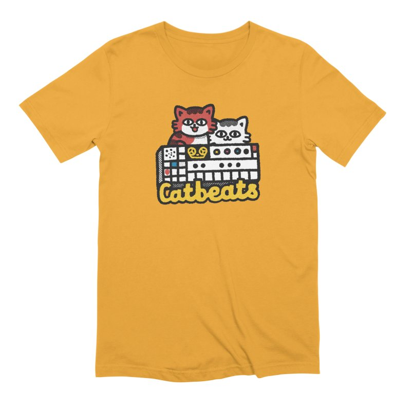 Catbeats Men's Extra Soft T-Shirt by Swedish Columbia's Artist Shop