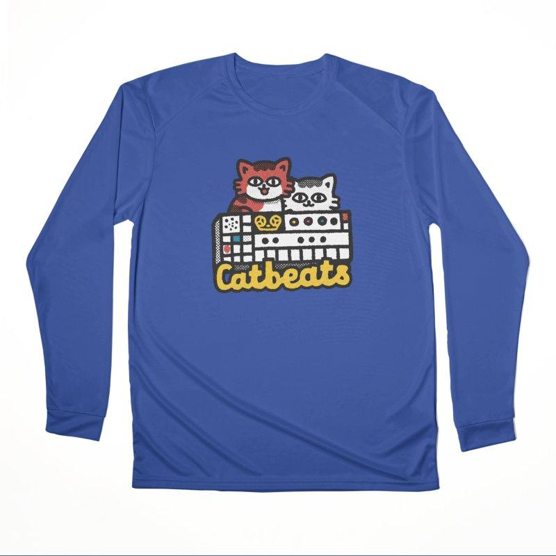 Catbeats Women's Performance Unisex Longsleeve T-Shirt by Swedish Columbia's Artist Shop