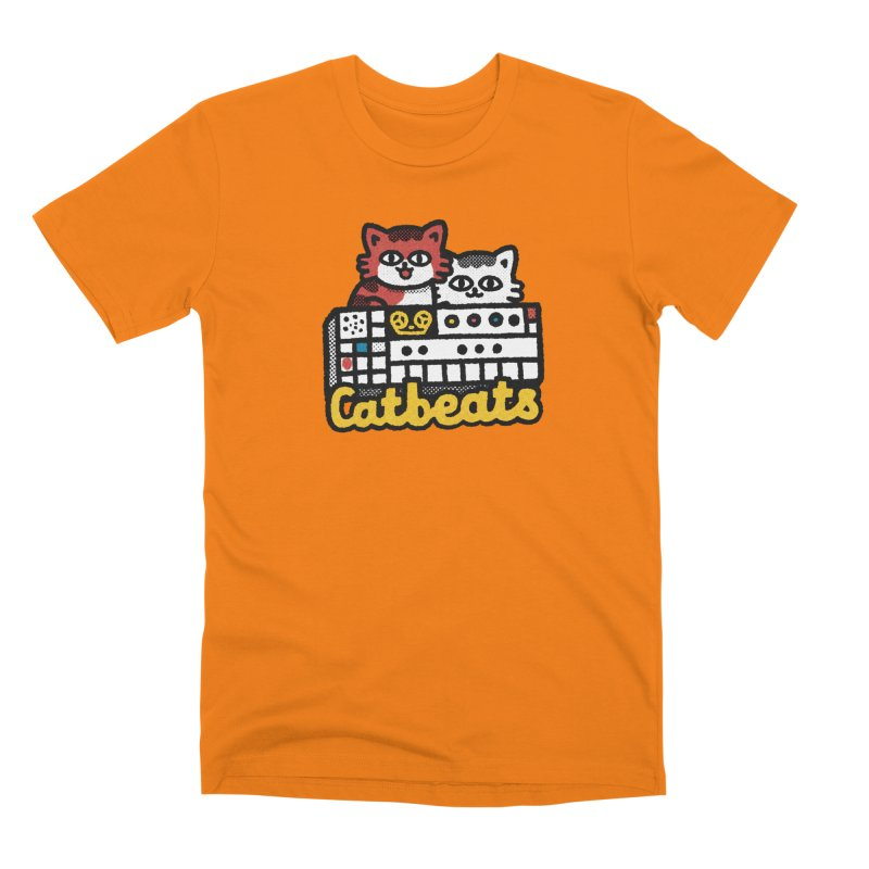 Catbeats Men's T-Shirt by Swedish Columbia's Artist Shop