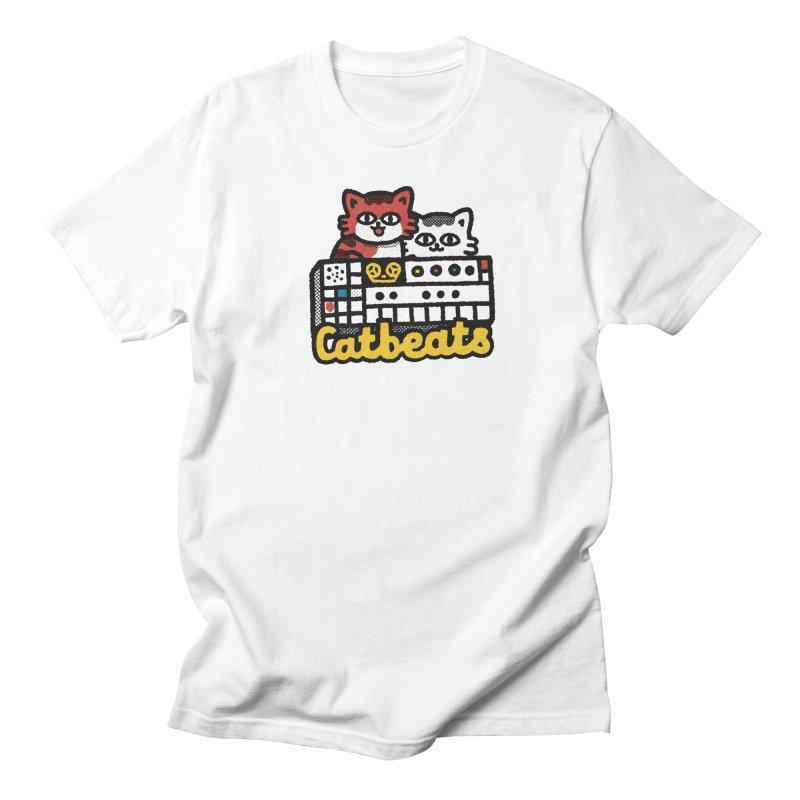 Catbeats Men's Regular T-Shirt by Swedish Columbia's Artist Shop