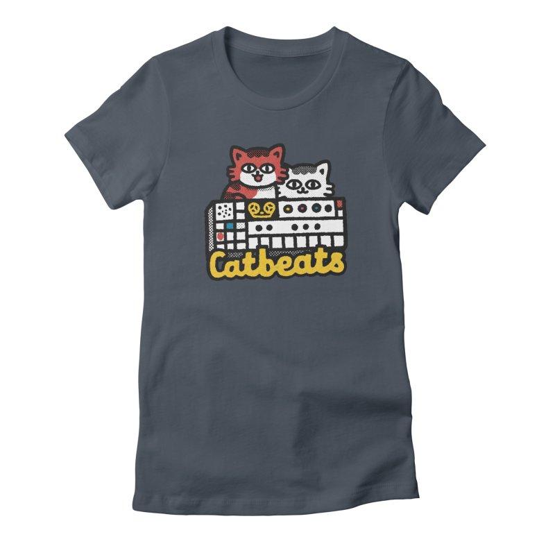 Catbeats Women's T-Shirt by Swedish Columbia's Artist Shop