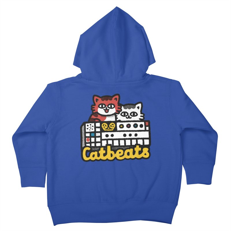 Catbeats Kids Toddler Zip-Up Hoody by Swedish Columbia's Artist Shop