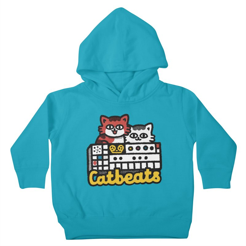 Catbeats Kids Toddler Pullover Hoody by Swedish Columbia's Artist Shop